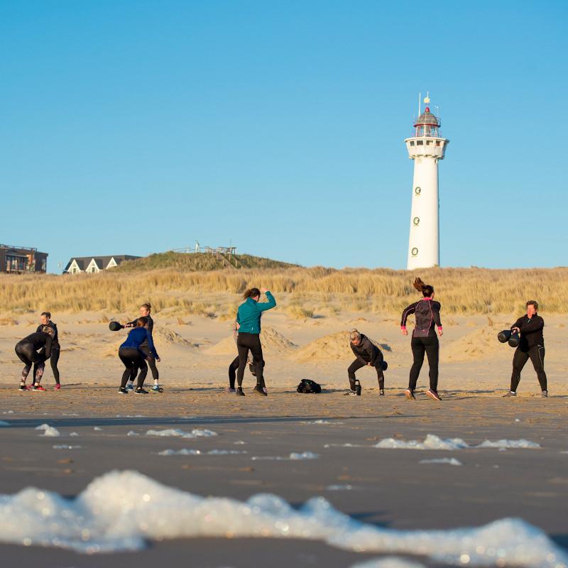 Sporten in de duinen en op het strand